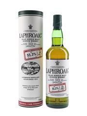 Laphroaig 10 Year Old Cask Strength Bottled 2011 - Batch 003 70cl / 55.3%