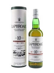 Laphroaig 10 Year Old Cask Strength Bottled 2016 - Batch 008 70cl / 59.2%