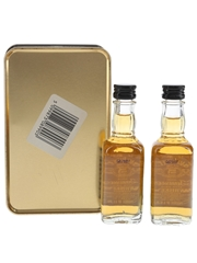 Jack Daniel's Old No.7 Old Time Tennessee Whiskey Bottled 1990s - Morgan Furze Ltd. 2 x 5cl / 40%