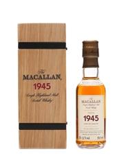 Macallan 1945 Fine & Rare