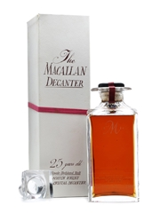 Macallan 1962 Tudor Crystal Decanter