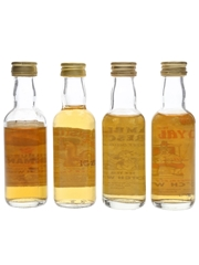 Assorted Blended Scotch Whisky Edinburgh's Hogmanay, Monster's Choice, Ramblers' Rescue & Royal Wee 4 x 5cl