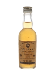 Macpherson's Cluny Bottled 1960s 5cl / 40%