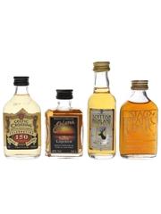 Irish & Scotch Whisky Liqueurs Celtic Crossing, Eblana, Murray's Scottish Highland & Stag's Breath 4 x 5cl