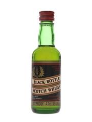 Black Bottle Bottled 1970s - Gordon Graham & Co. 4.7cl / 40%
