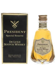 President 12 Year Old Special Reserve Bottled 1980s 5cl / 40%