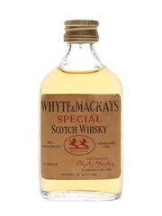 Whyte & Mackays Special Bottled 1970s 5cl / 40%