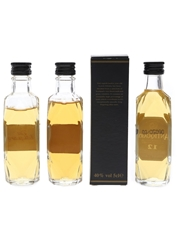 Antiquary 12 Year Old & De Luxe  3 x 5cl