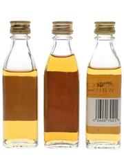 John Barr, Old Scotch & Prince  3 x 5cl