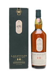 Lagavulin 16 Years Old Bottled 1980s-1990s - White Horse Distillers 100cl / 43%