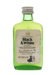 Buchanan's Black & White Bottled 1970s 5cl / 40%
