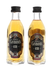 Grant's 12 Year Old  2 x 5cl / 43%
