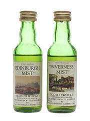 Wm Cadenhead Edinburgh Mist & Inverness Mist The Whisky Shop Ltd. 2 x 5cl / 46%