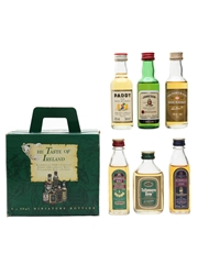 The Taste Of Ireland Set Bushmills, Jameson, Paddy, Powers & Tullamore Dew 6 x 5cl / 43%