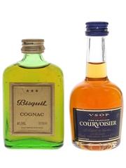 Bisquit 3 Star & Courvoisier VSOP  2 x 5cl / 40%