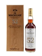 Macallan 52 Year Old