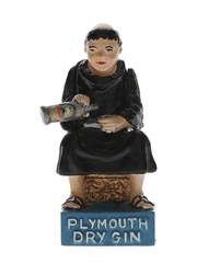 Plymouth Dry Gin Friar Figurine