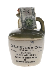 Tullamore Dew 12 Year Old Bottled 1970s - Ceramic Decanter 4.68cl / 43%