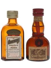 Cointreau & Grand Marnier Bottled 1970s & 1980s 2.5cl & 5cl / 40%