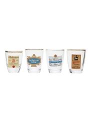 Assorted Shot Glasses Ballantine's, Daiquiri, Heidsieck, White Horse