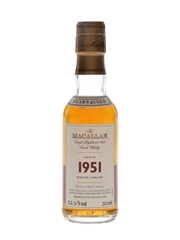 Macallan 1951 51 Year Old Fine & Rare
