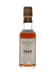 Macallan 1949 52 Year Old Fine & Rare