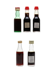 Fernet Busignani, Gambarotta, Moccia & Presolana  5 x 2.5cl-3cl
