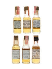 Southern Comfort Bottled 1960s-1970s 6 x 4.7cl-4.8cl / 50%