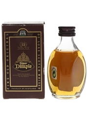 Haig's Dimple 12 Year Old Bottled 1990s 5cl / 40%