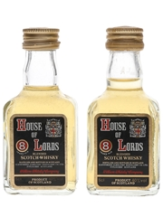 House Of Lords 8 Year Old Bottled 1980s 2 x 5cl / 40%