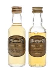 Glenturret 12 Year Old Bottled 1980s 2 x 5cl / 40%