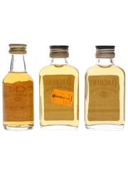 Teacher's Highland Cream Bottled 1980s & 1990s 3 x 5cl / 4%
