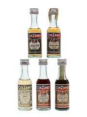 Cinzano Bianco, Dry & Rosso Vermouth
