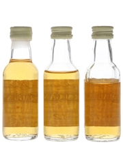 Cragganmore 12 Year Old Bottled 1980s-1990s 3 x 5cl / 40%