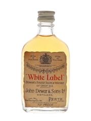 Dewar's White Label Bottled 1960s 5cl / 40%
