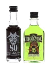 Absinthe Cannabis & Le Diable Verte
