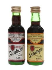 Sanatogen Tonic Wine Bottled 1960s-1970s 2 x 5cl / 26%