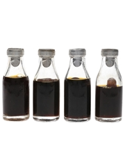 Fernet Branca Bottled 1950s-1960s 4 x 2cl / 45%