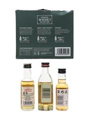 Scotch Whisky Selection Set Famous Grouse, Grant's, Teacher's 3 x 5cl / 40%