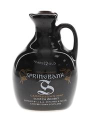 Springbank 12 Year Old Bottled 1980s - Ceramic Jug 5cl