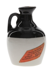Rutherford's Ceramic Decanter Bottled 1970s - Montrose Potteries 4.7cl / 40%