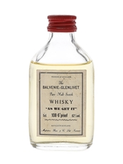 Balvenie-Glenlivet As We Get It Macfarlane, Bruce & Co. 5cl / 62%