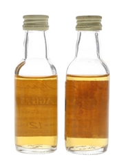 Cragganmore 12 Year Old Bottled 1980s-1990s 2 x 5cl / 40%