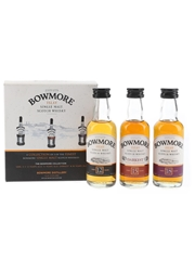 Bowmore Collection 12, 15 & 18 Year Old 3 x 5cl