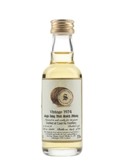 Caol Ila 1974 20 Year Old Cask 12584 Bottled 1995 - Signatory Vintage 5cl / 55.7%