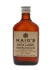 Haig's Gold Label Bottled 1960s 5cl / 40%