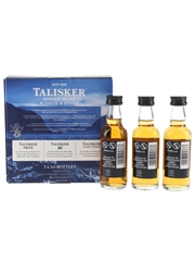 Talisker Collection Pack Skye, 10 Year Old & Dark Storm 3 x 5cl / 45.8%