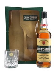 Old Comber 30 Year Old With Lead Crystal Glass