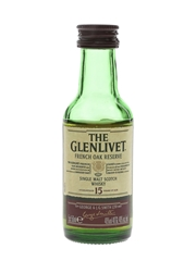 Glenlivet 15 Year Old French Oak Reserve  5cl / 40%