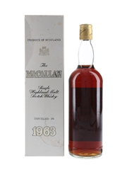 Macallan 1963 Bottled 1980 - Rinaldi 75cl / 43%
